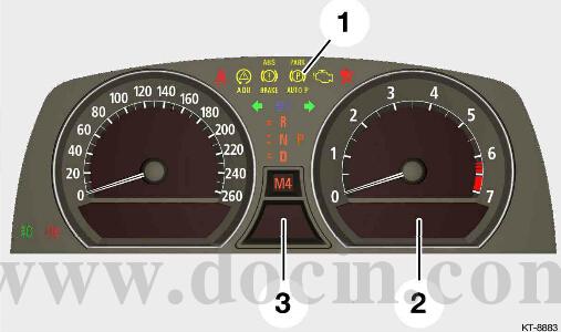 宝马120i指示灯图解