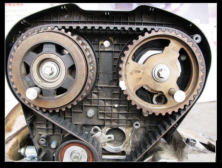 标致,雪铁龙2.0发动机正时皮带安装方法
